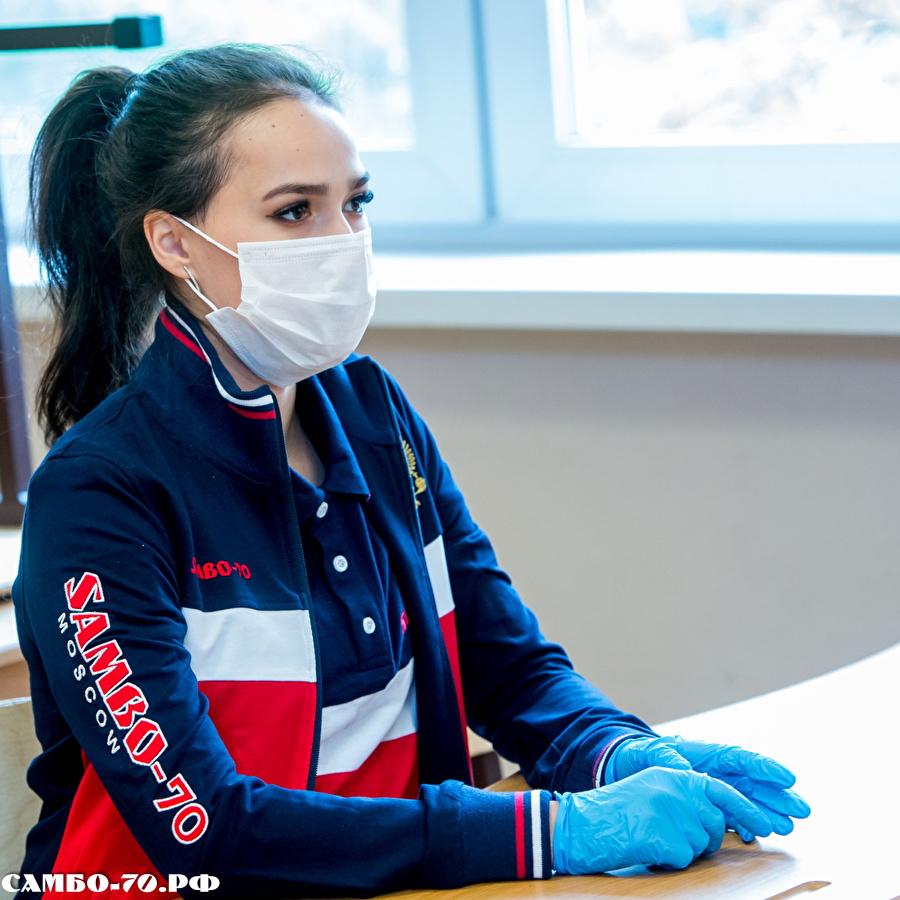 Алина Ильназовна Загитова-3 | Олимпийская чемпионка - Страница 9 124099_900f