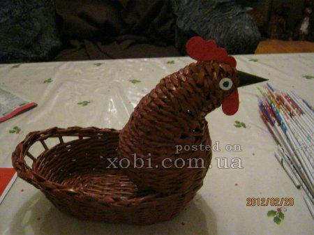 Яйца и другие плетенки из газет 1332335177_2616
