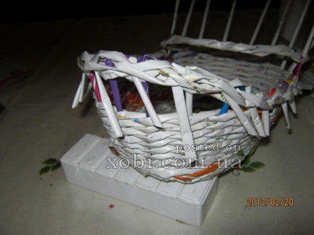 Яйца и другие плетенки из газет 1332335206_266