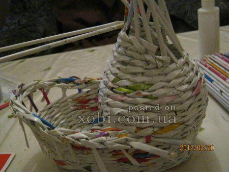 Яйца и другие плетенки из газет 1332335260_2611