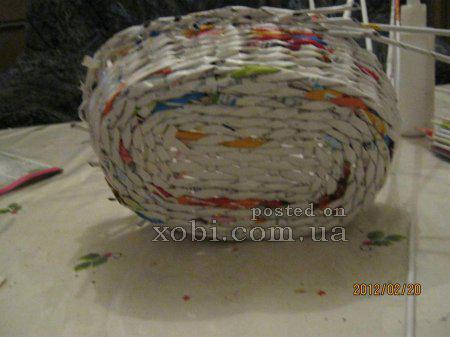 Яйца и другие плетенки из газет 1332335267_265