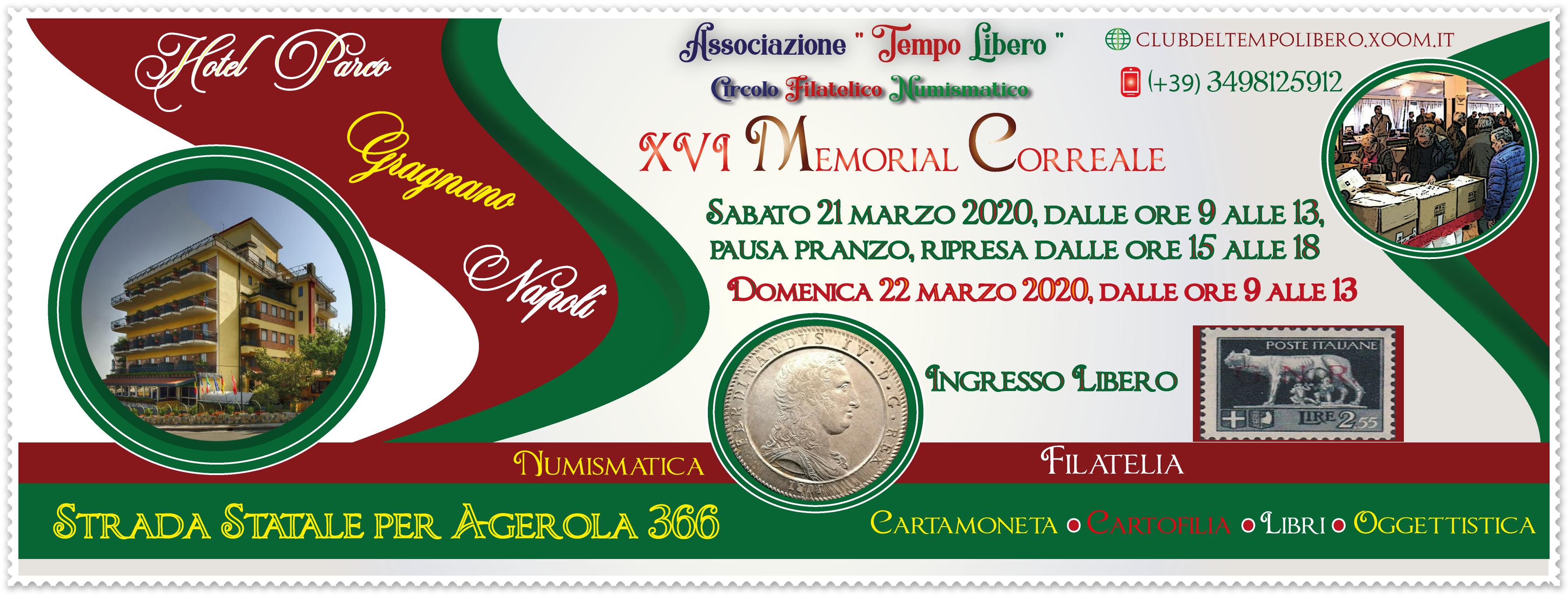 21 e 22 marzo: Collezionismo a Napoli, il Memorial Correale Flyer%20XVI%20Memorial%20Correale-1