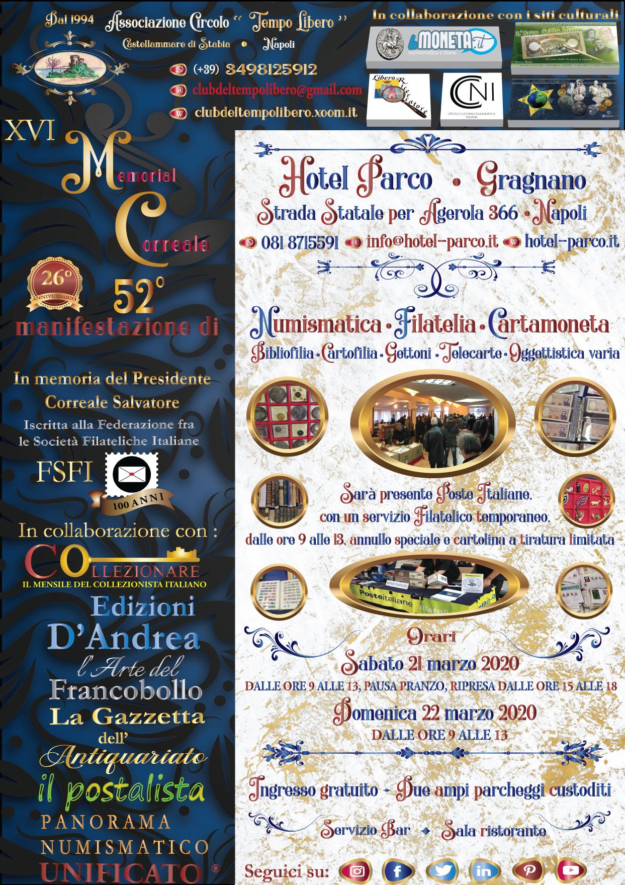 21 e 22 marzo: Collezionismo a Napoli, il Memorial Correale Locandina%20XVI%20Memorial%20Correale%20prova%202%20%281%29