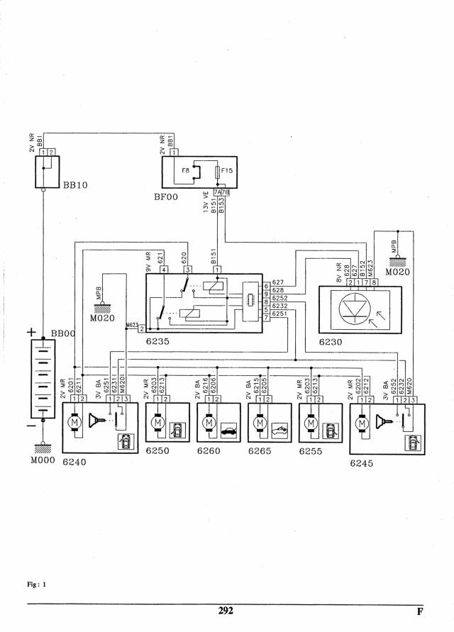 Schémas centralisation / éclairage plafonnier (405 phase II) Schema_centralisation_405_phase_II_1