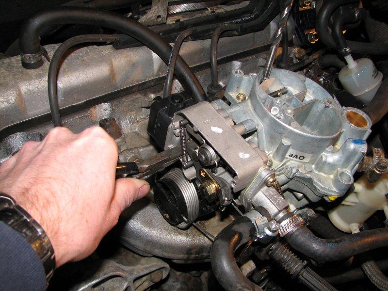 [TUTO] Fonctionnement et réglage carburateur solex 34-34 Z 1 T_reglage_II_controle_entrebaillement_volet_starter
