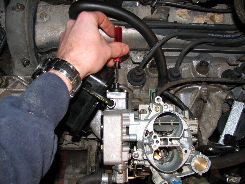 [TUTO] Fonctionnement et réglage carburateur solex 34-34 Z 1 T_reglage_II_entrebaillement_du_volet_de_starter