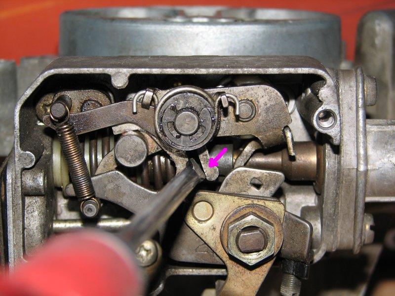 [TUTO] Fonctionnement et réglage carburateur solex 34-34 Z 1 T_reglage_VII_denoyage