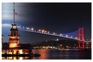 منارة الفتاة (برج الفتاة ) في اسطنبول  100x60-CANVAS-TABLO-KIZ-KULESI-BOGAZ-KOPRUSU__71735319_0-300x200