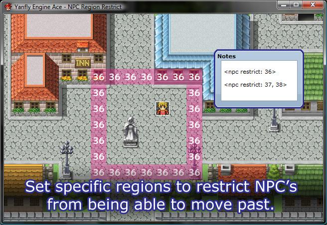 [RGSS3] Script de gestion des Zones pour les PNJs et Joueur Mrr-01
