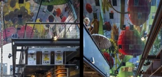 أسواق للفواكه بهيئة محطة فضائية  1431323834140