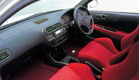 Jimmy´s - Civic Si Coupe (The only one in the country) Interior