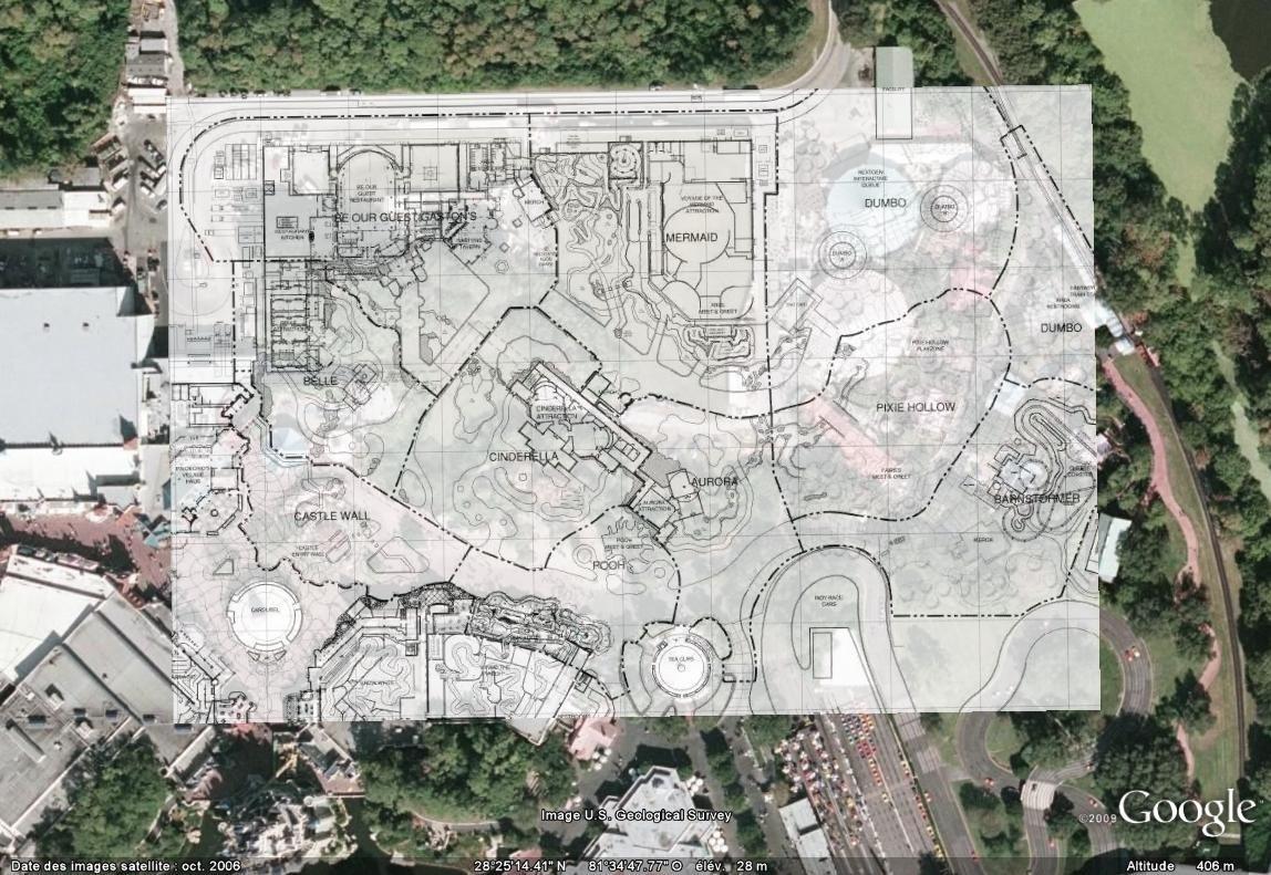 [Magic Kingdom] New Fantasyland - Discussion générale (2012-2014) - Page 2 Fantymap