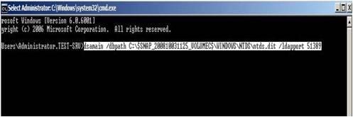 Active Directory Snapshots Windows 2008 15