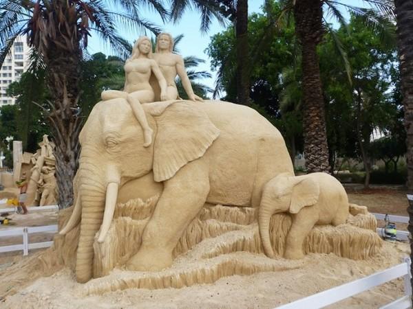 Les statues de sable  F5077331