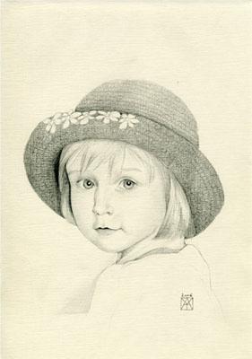 Dessin et peinture - Page 2 Portrait_1enfant_i
