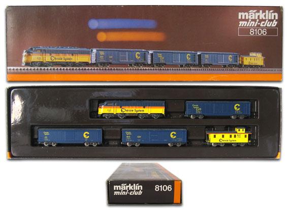 "Train ""Chessie System"" - Märklin 8106 8106P"