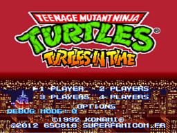 Turtles in Time - Cowabunga Edition! [Beathem'Up] Screenshot01