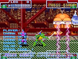 Turtles in Time - Cowabunga Edition! [Beathem'Up] Screenshot03