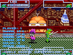 Turtles in Time - Cowabunga Edition! [Beathem'Up] Screenshot04