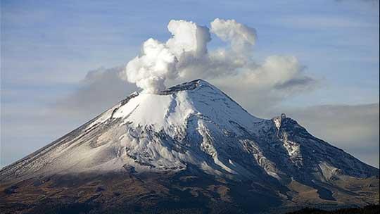 Vulkani Popo-volcano