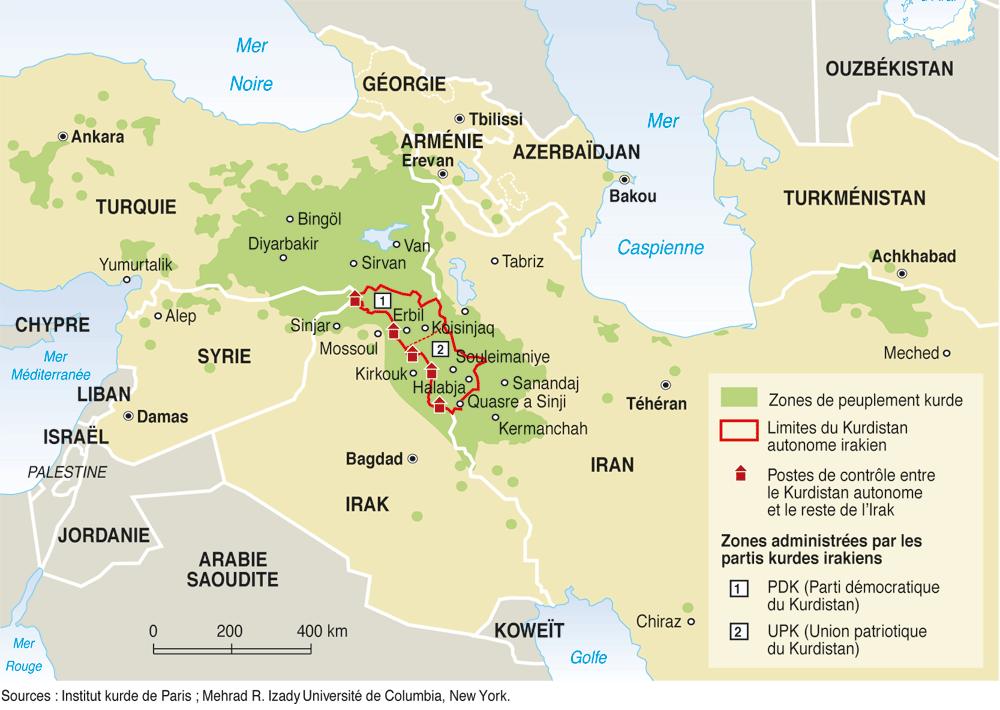 Syrie An 13, chronique de la guerre périphérique… entre Oceania et Eurasia*  R%C3%A9partition-des-Kurdes