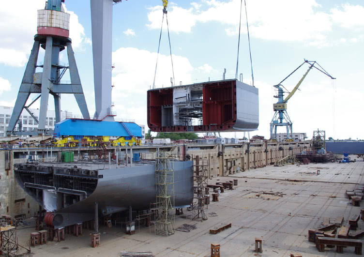 Russian Naval Shipbuilding Industry: News - Page 4 Dock2
