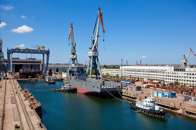 Russian Naval Shipbuilding Industry: News - Page 4 Dok-osnova
