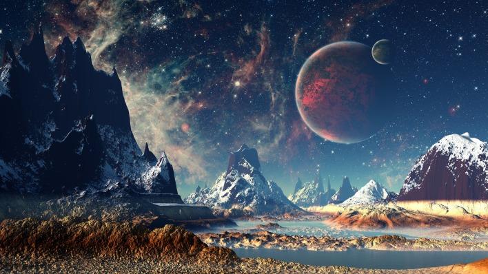 Звёздное небо и космос в картинках - Страница 39 1476894569