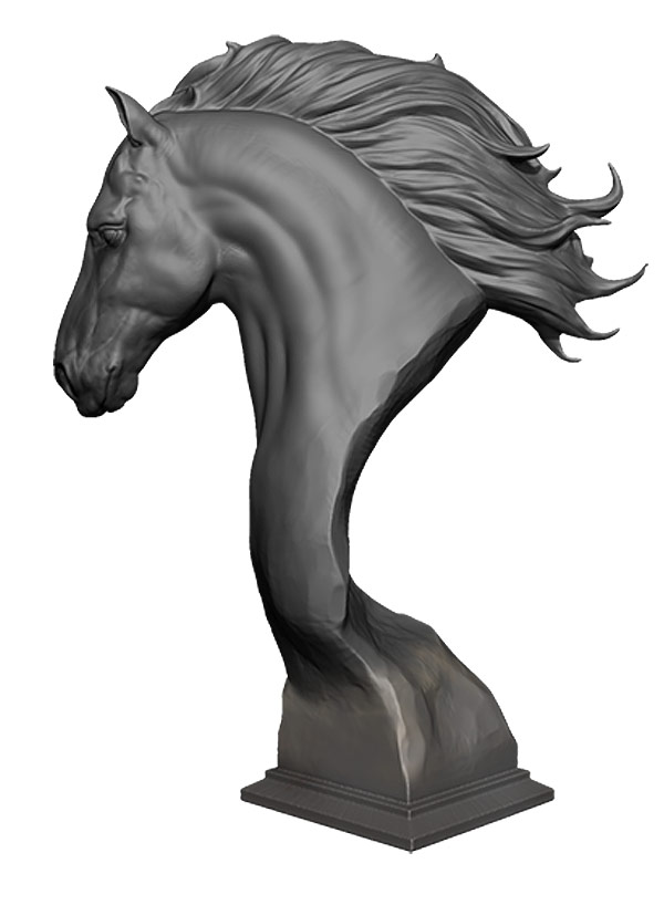 ZBrush Core le meilleur Modeleur 3D ? Horse