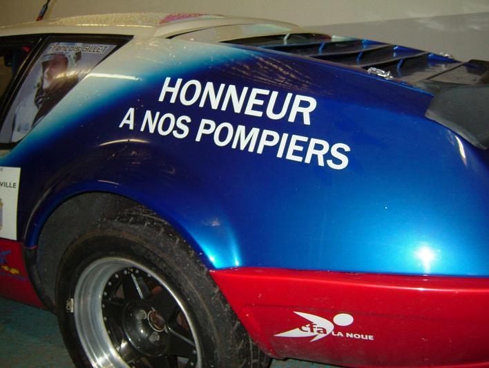 Solidarité Famille des pompiers tués : REMISE DE DONS 2006 8
