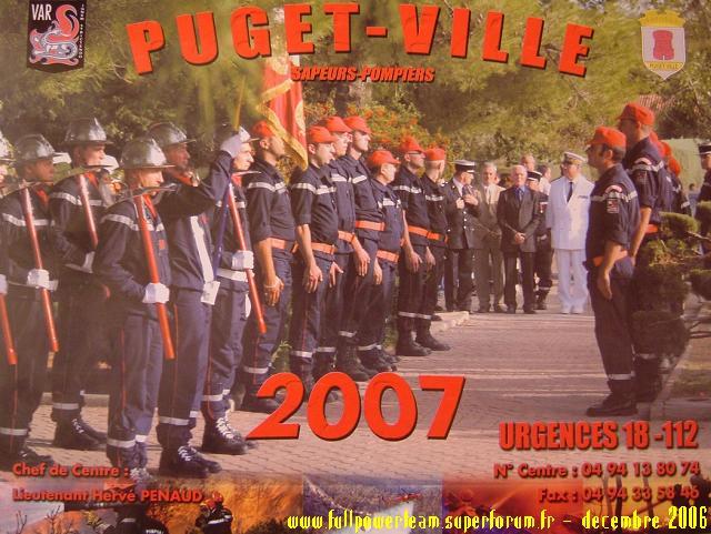 Solidarité Famille des pompiers tués : REMISE DE DONS 2006 CollectePompierphoto4