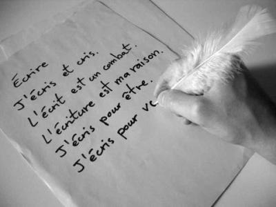 Premier message! Ecrire