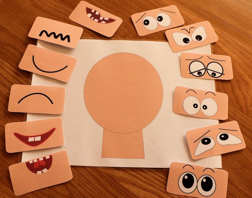 Deca i emocije igrom Lice1