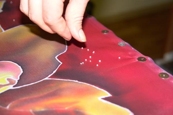Рисуем платок в технике холодного батика Batik_22
