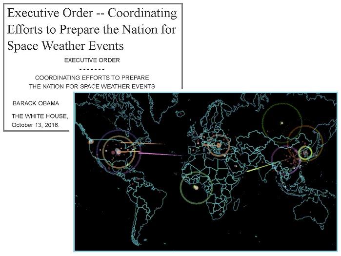 Обама подписал указ, предписывающий населению готовиться к изменениям космической погоды 'Space Weather Events' 22oc004