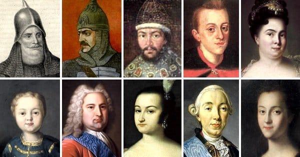 10 нерусских правителей Руси Emperors