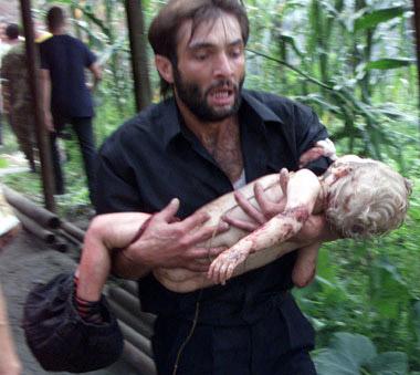 مجزرة بيسلان بقيادة تجار مخدرات Beslan