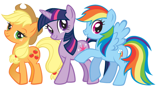 ♥مدۉڹتے♥ - صفحة 3 Applejack-twilightsparkle-rainbowdash