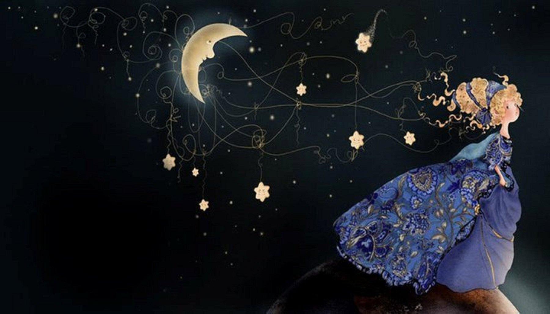 Bienvenidos al nuevo foro de apoyo a Noe #299 / 02.12.15 ~ 08.12.15 - Página 2 3d-abstract_other_follow-me-mr-moon_31355