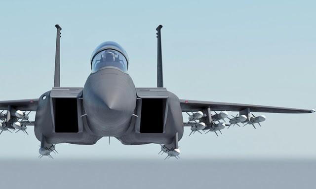 McDonnell Douglas F-15 Eagle  (caza táctico todo tiempo bimotor  USA ) F-15-1