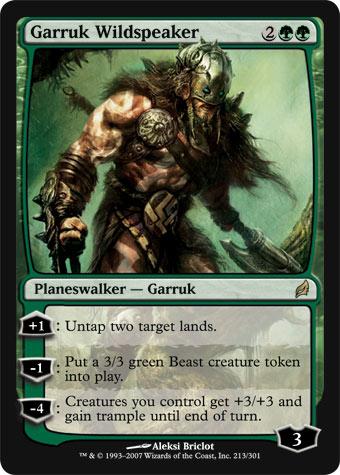 Magic The Gathering ... et vous ? - Page 3 Garruk