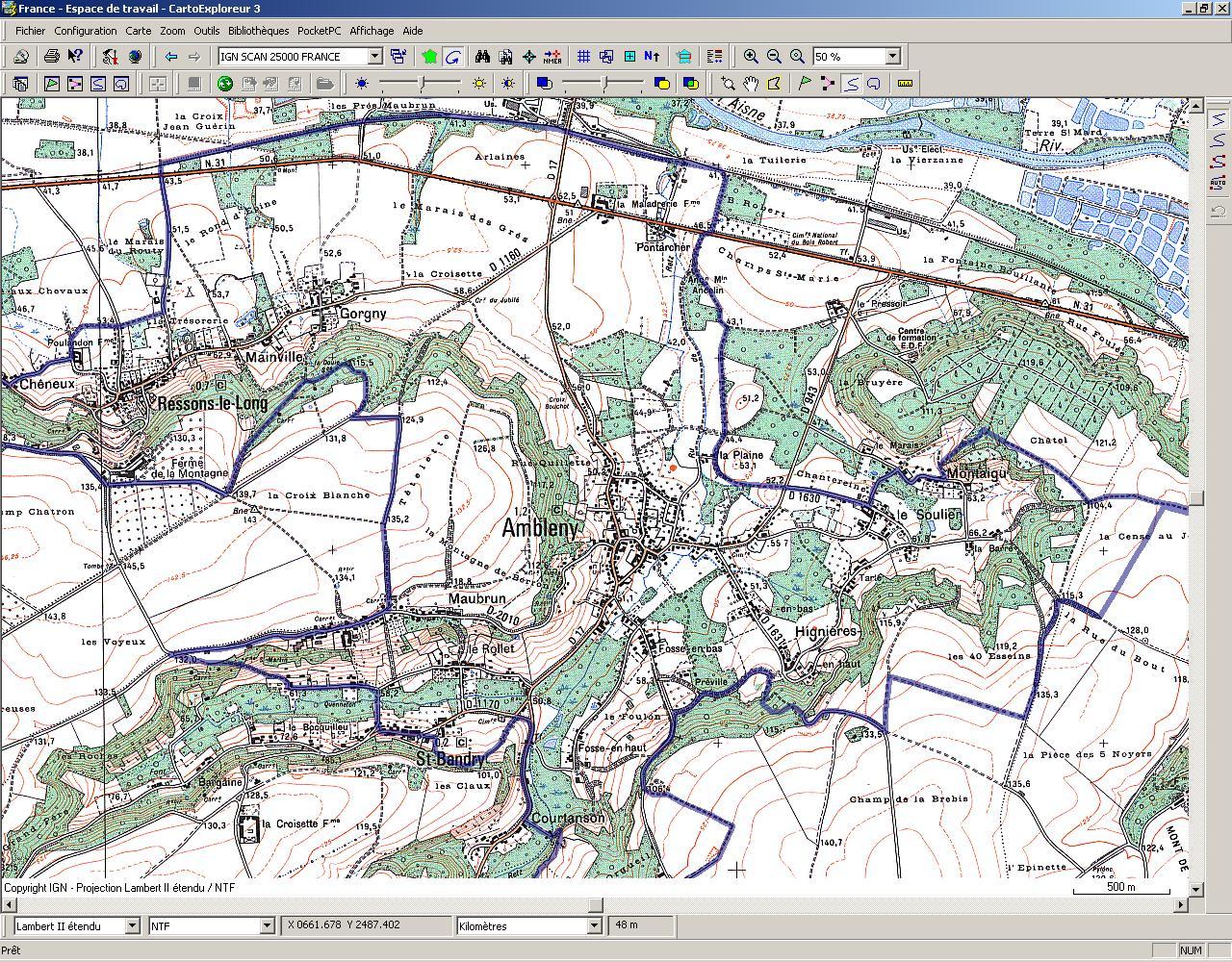 [GPS] Garmin Edge (205), Carto Explorer 3 + Training Center Gps03