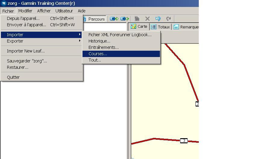 [GPS] Garmin Edge (205), Carto Explorer 3 + Training Center Gps06