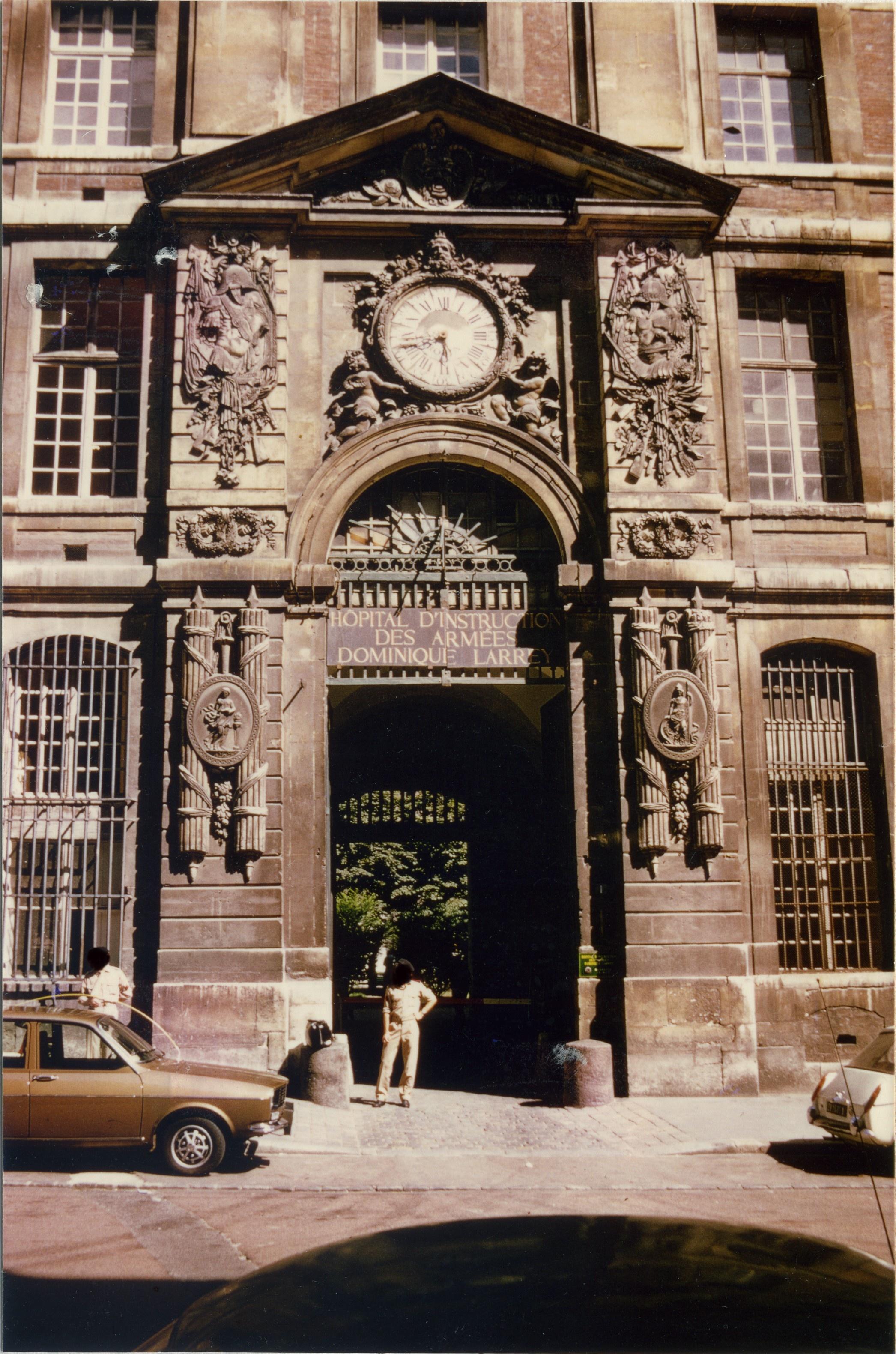 Le Grand Commun, à Versailles Domlar_mars_1976_3_photo