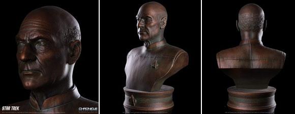Chronicle Collectibles [statues de chats, vaisseaux, bustes] PicardBust111519