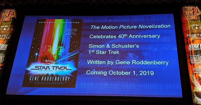 The Motion Picture [TOS;1979 et 2019] TMP-book