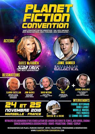 Planet Fiction Convention (24-25 novembre 2018) Affiche
