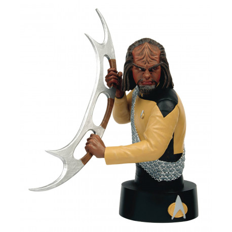 Eaglemoss [fascicules et vaisseaux de collection] Commander-worf-star-trek-bust-collection