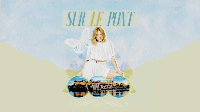 SUR LE PONT ☼ forum city se passant à avignon en france  Surlepont