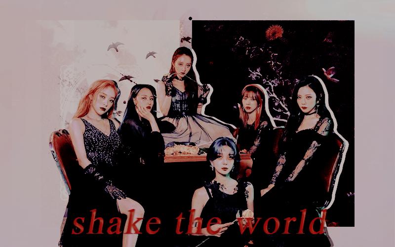 #SHAKE THE WORLD